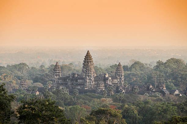 Angkor Wat Tempel.  Siem Reap.  Kambodscha – Foto