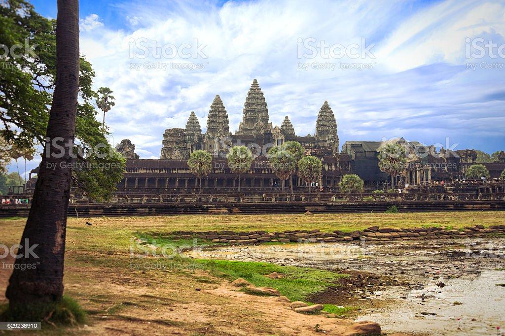 Angkorwat in Cambodia stock photo