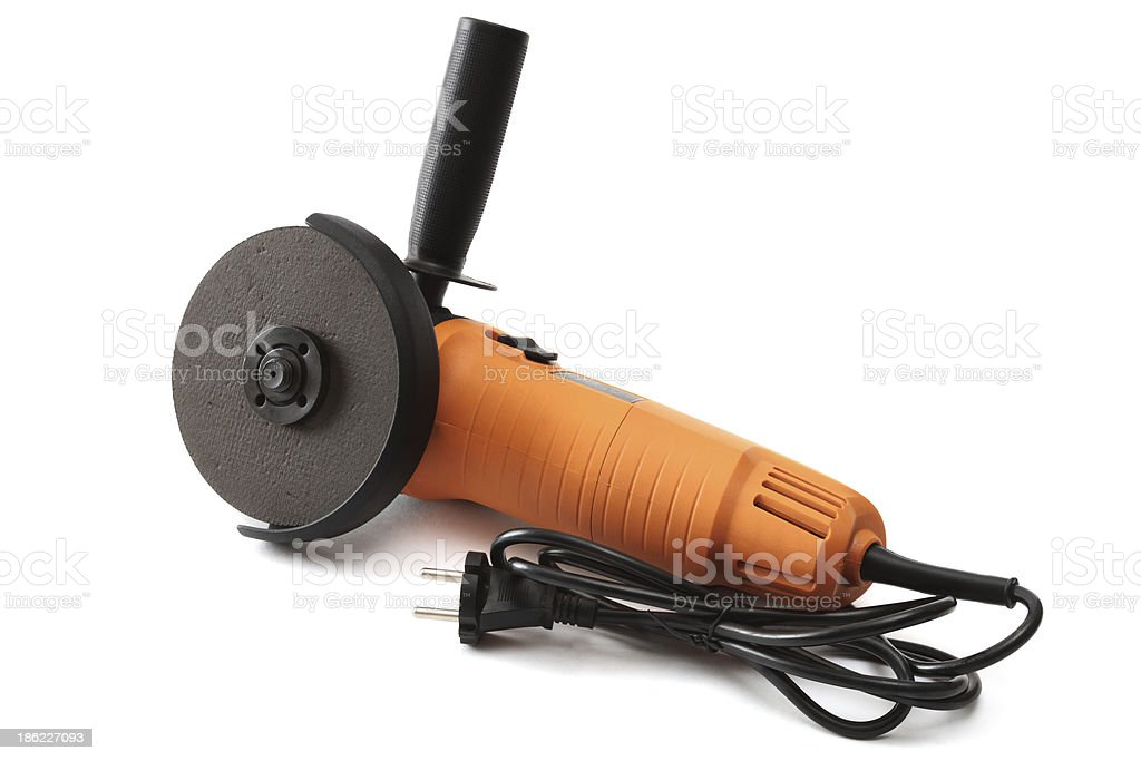 Angle grinder royalty-free stock photo