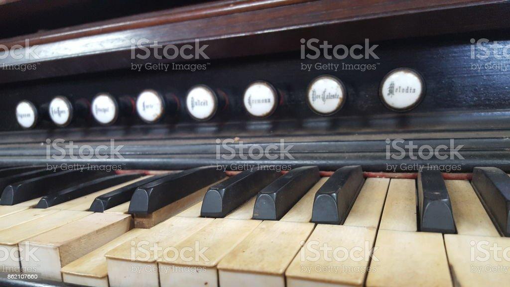 Angled Keys stock photo