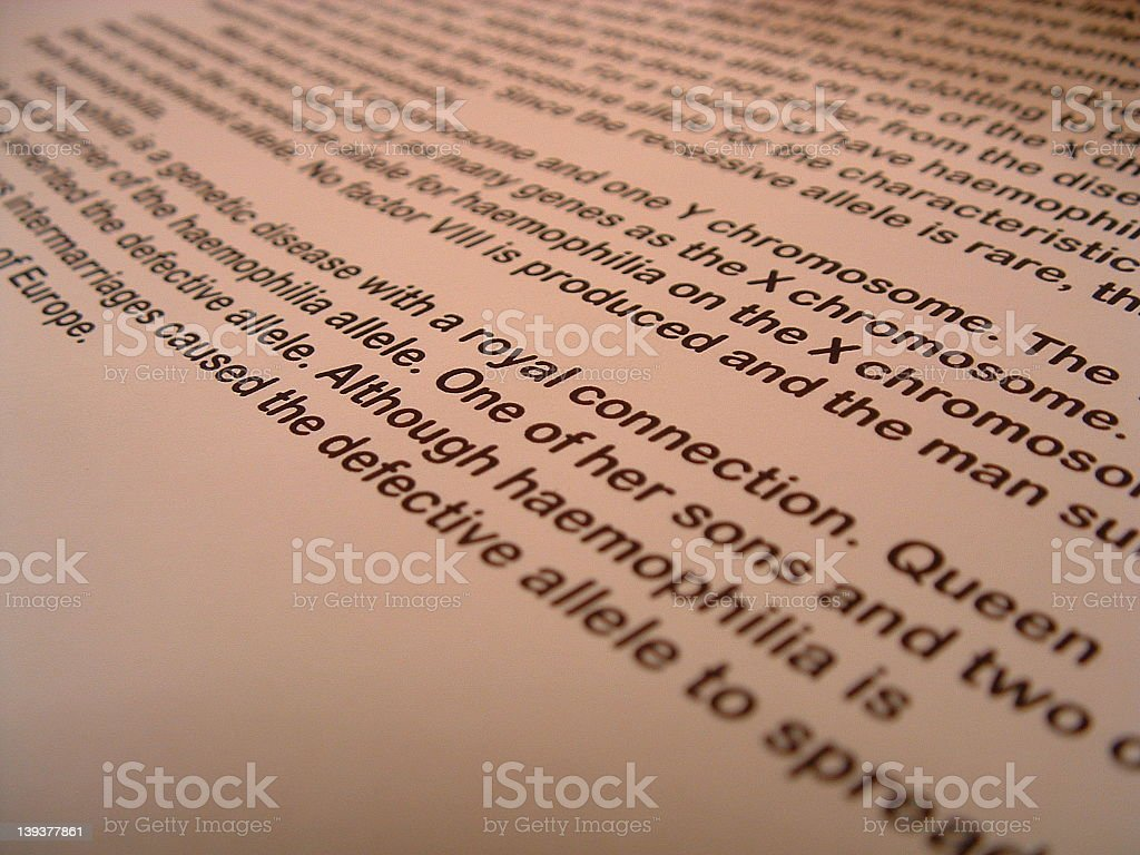 Angled Paperwork royalty-free stock photo