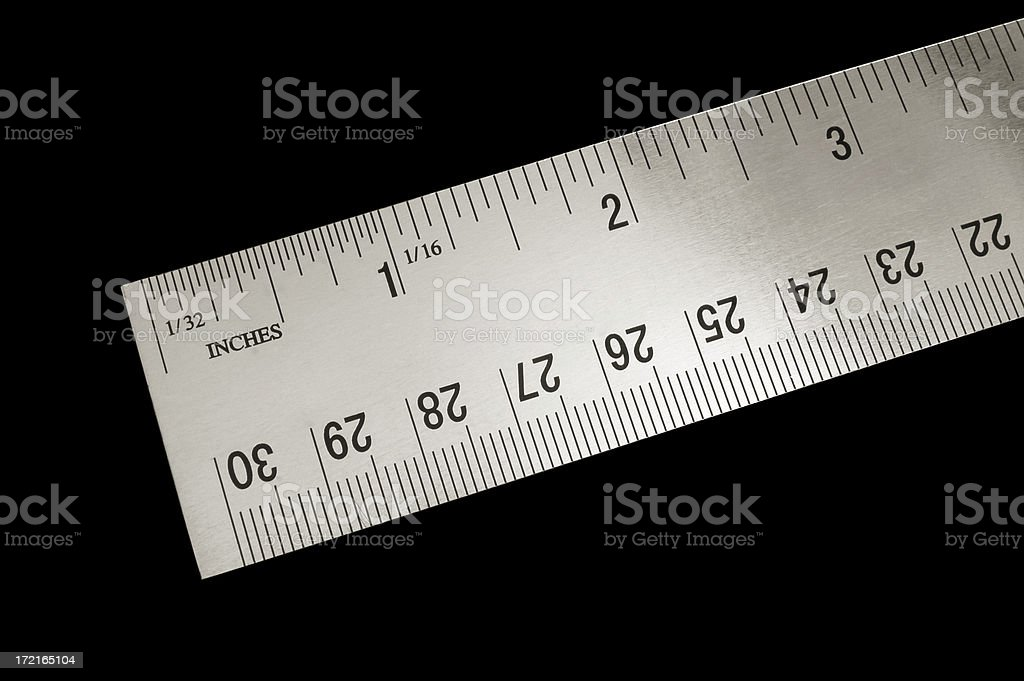 angled ruler royalty-free stock photo