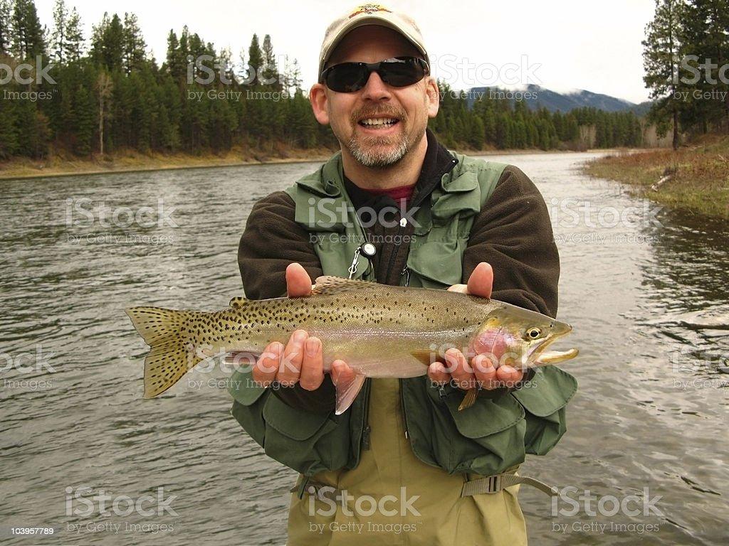 angler stock photo