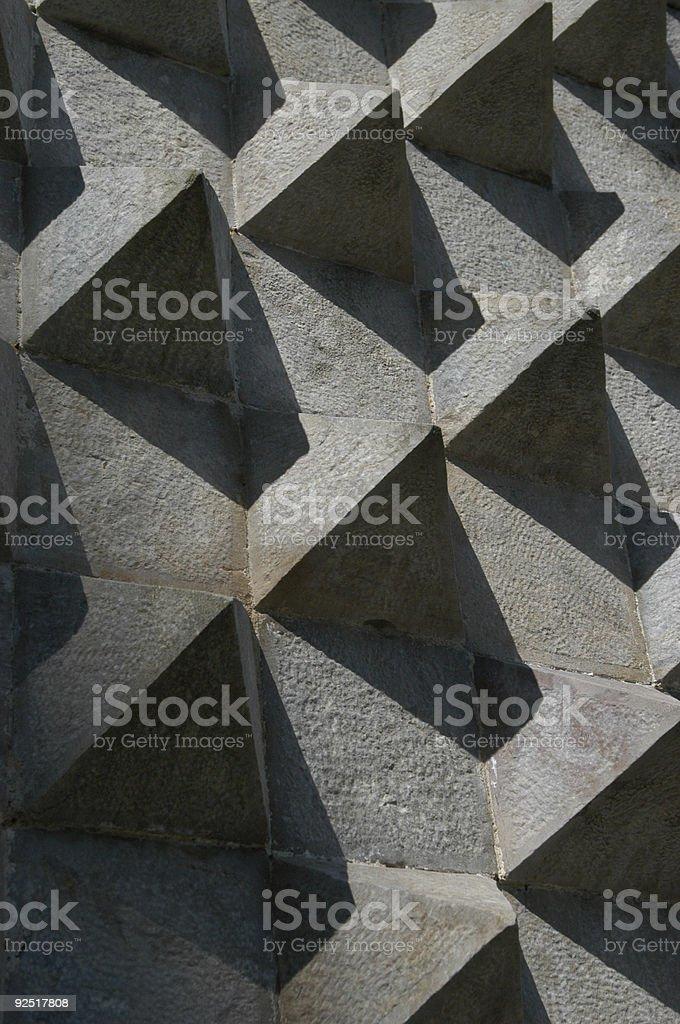 Angles and Shadows royalty-free stock photo