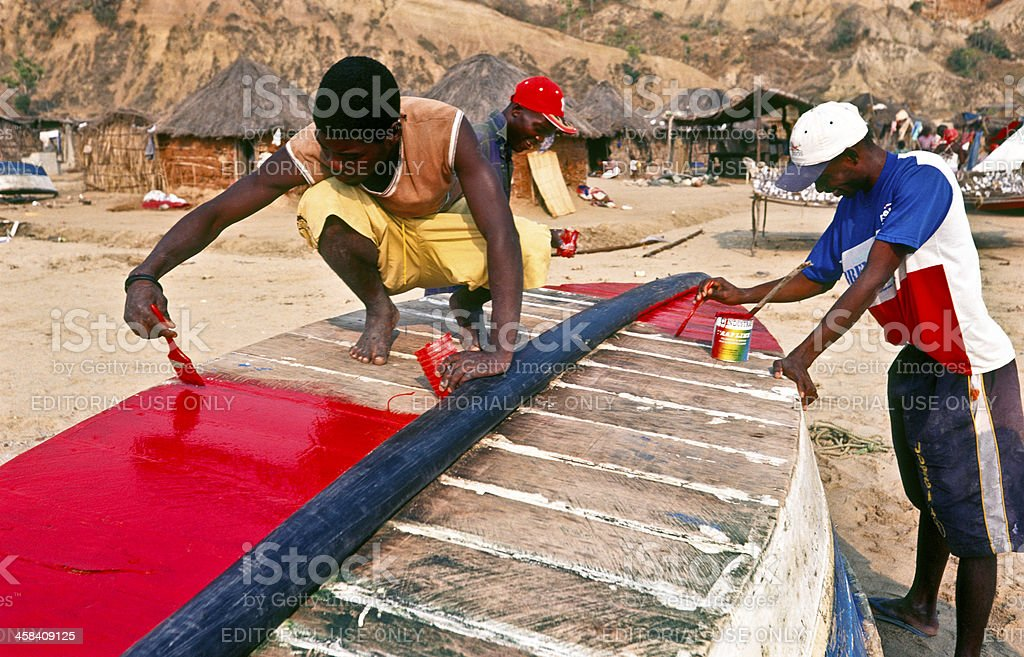 Angola, Bengo Province, Cabo Ledo. stock photo