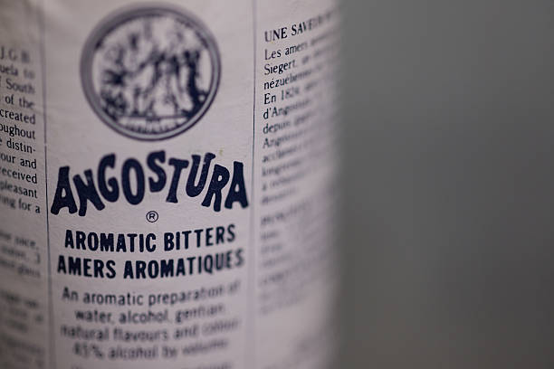 angostura bitters - dark beer stock photos and pictures