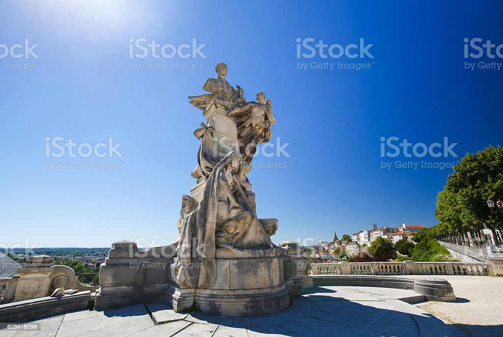 Angouleme, France. Statue of Lazare Carnot (1753 - 1823) - Photo