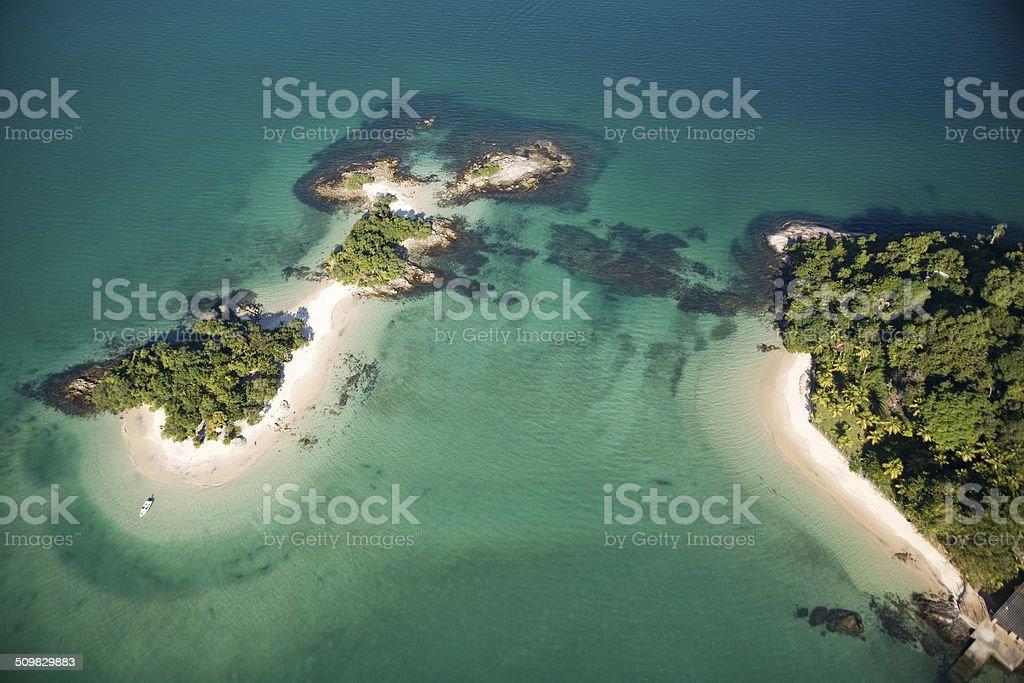 Baía de Angra stock photo