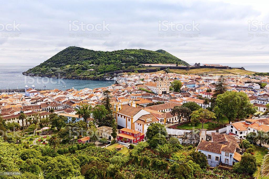 Angra do Heroismo, Terceira Island, Azores stock photo