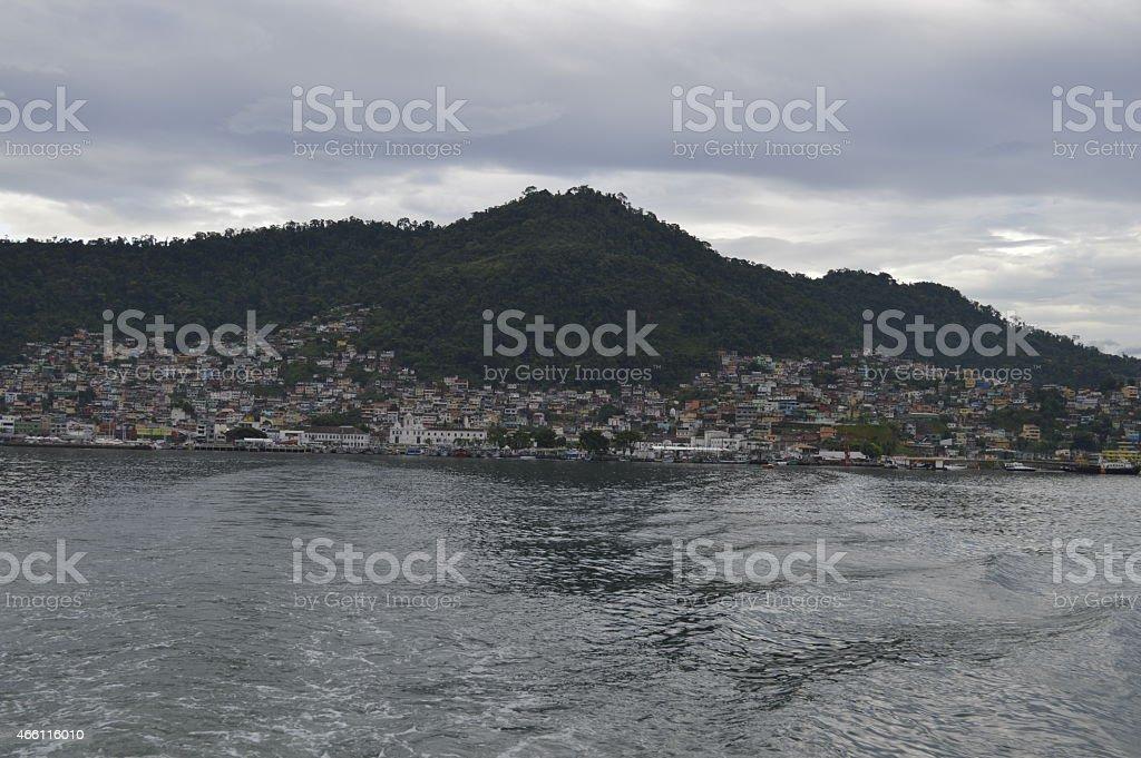 Angra dos Reis city stock photo