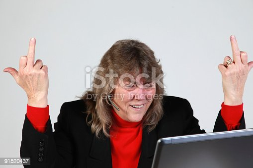istock Angry at work 91520437
