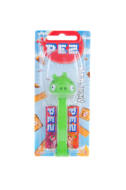 Angry Birds Pez Dispenser stock photo