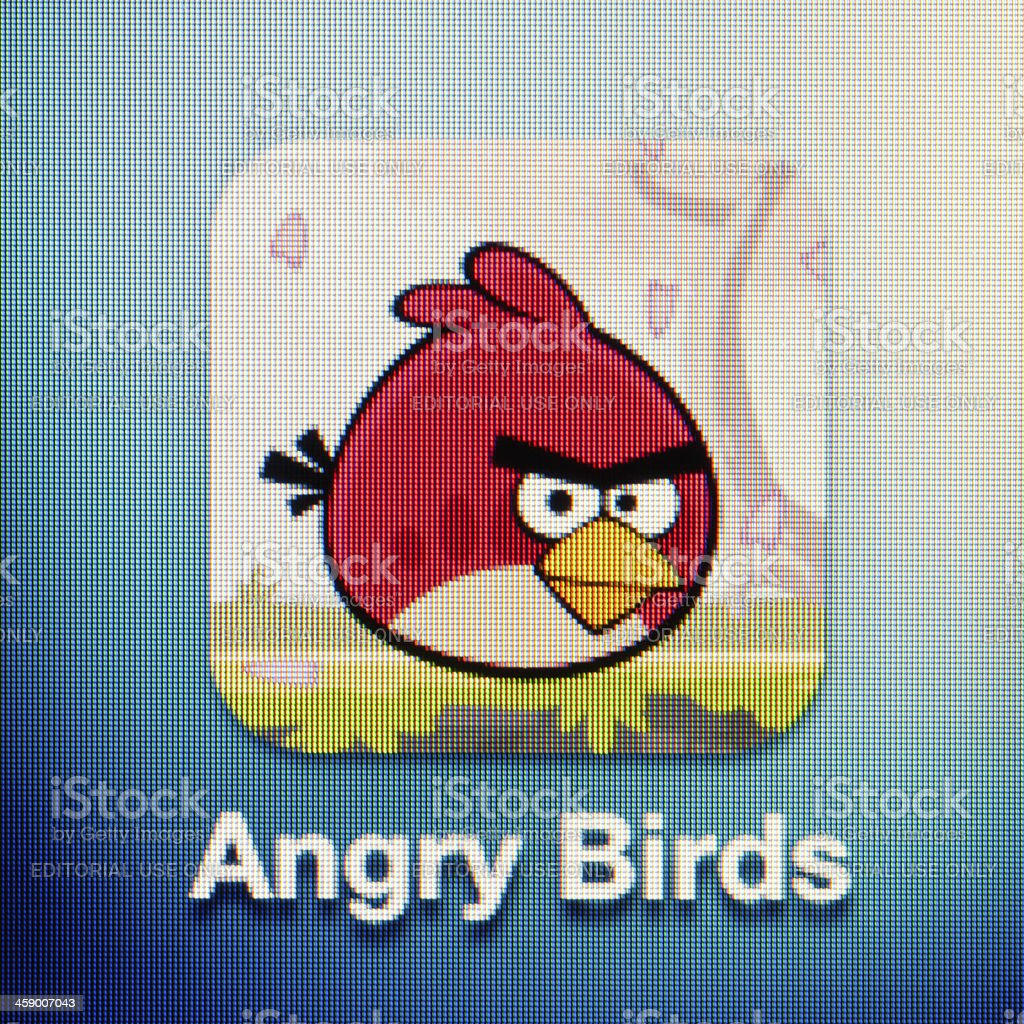Angry Birds stock photo