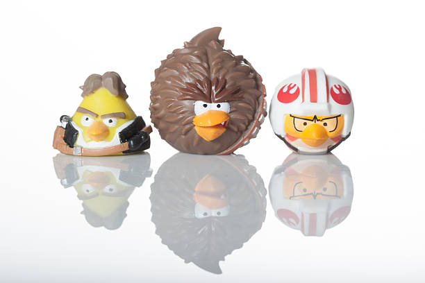Angry Birds republic side stock photo