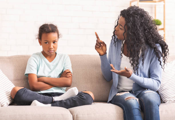 126 Sad Little Girl Listening Her Parents Having An Argument Stock Photos,  Pictures & Royalty-Free Images - iStock