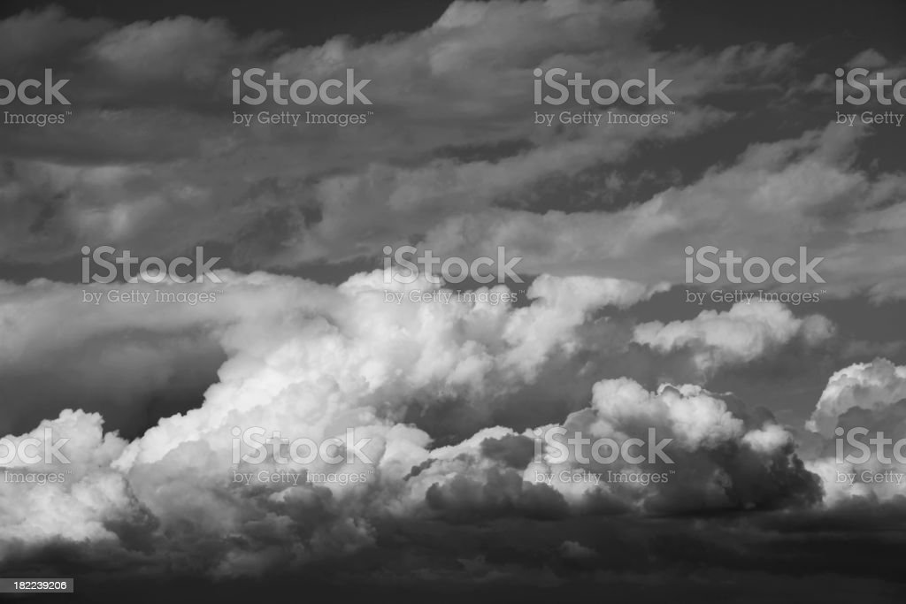 Angry Clouds royalty-free stock photo