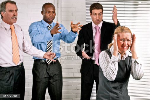 463813207 istock photo Angry colleagues 157770131