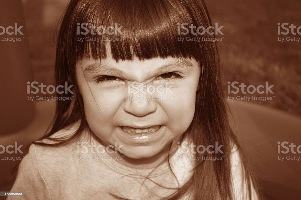 angry face royalty-free stock photo