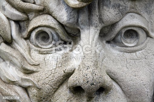 A  face on the side of a Vancouver building
