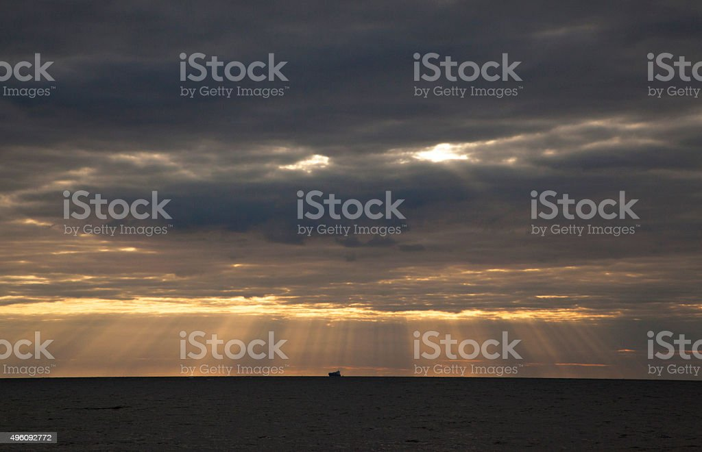 Angry Face Sky - Royalty-free 2015 Stock Photo