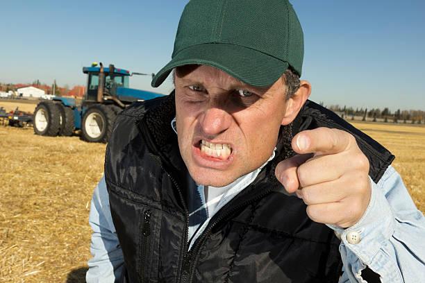 Wütende Farmer – Foto