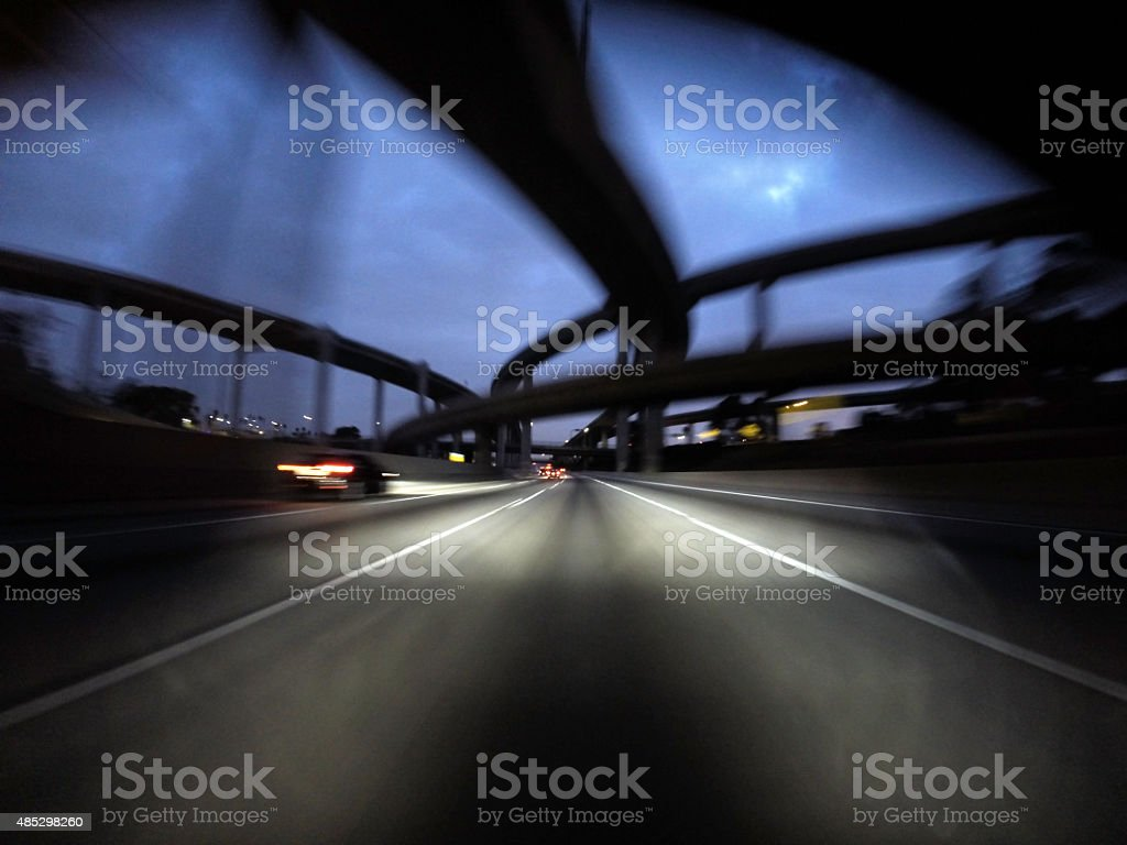 Angry Freeway stock photo
