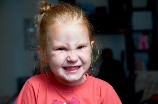 istock Angry girl. 1176905922