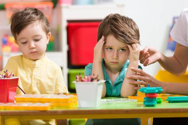 Wütend kleine Jungen – Foto