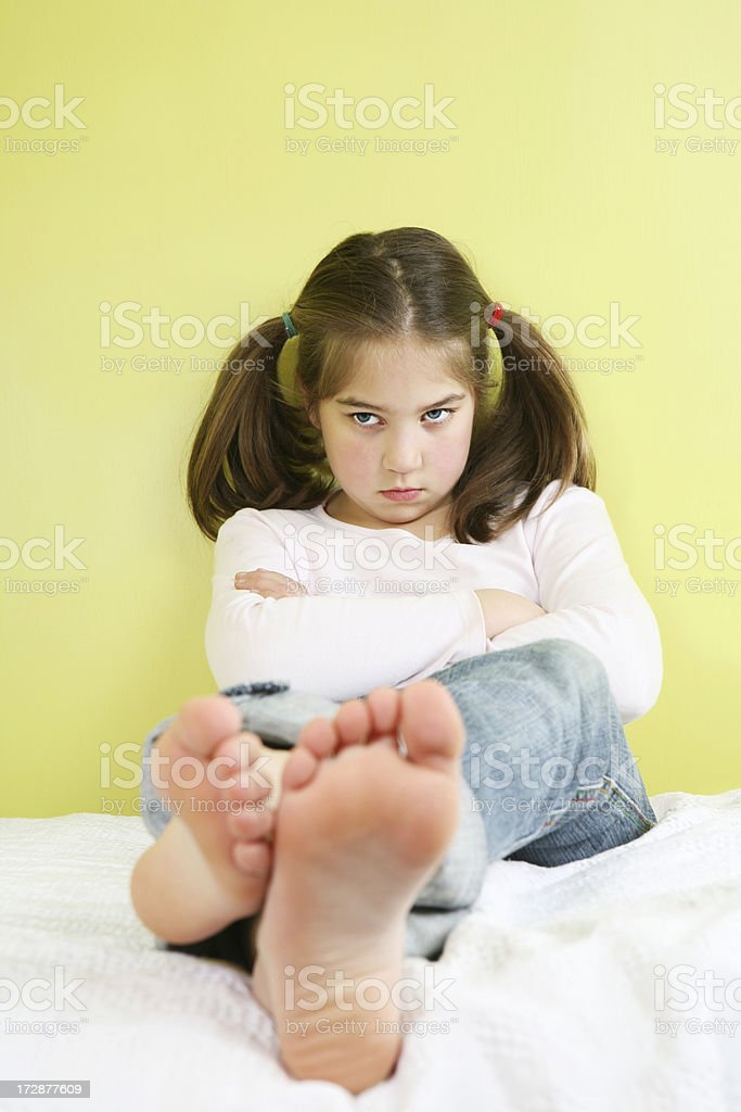 angry little thing royalty-free stock photo