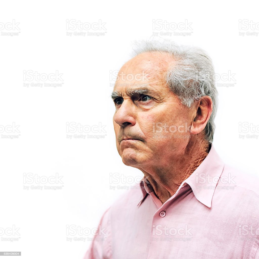 Angry Look stock photo