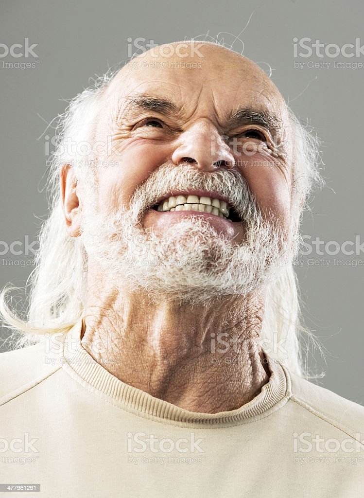 Angry man. royalty-free stock photo