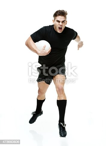 istock Angry rugby player jumping 473660606
