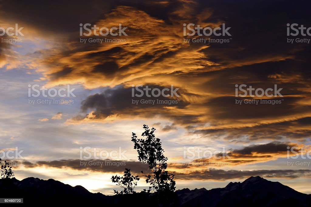 Angry Skies royalty-free stock photo