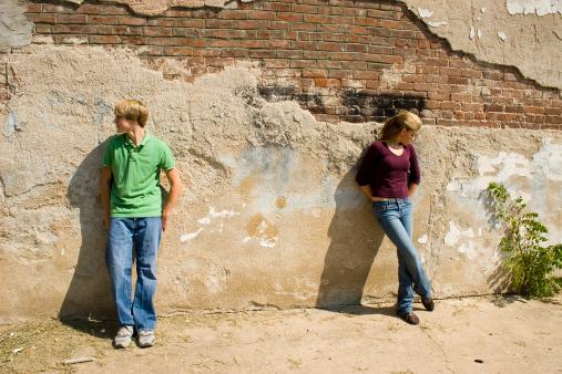 171581046 istock photo Angry Teen Couple 92064775