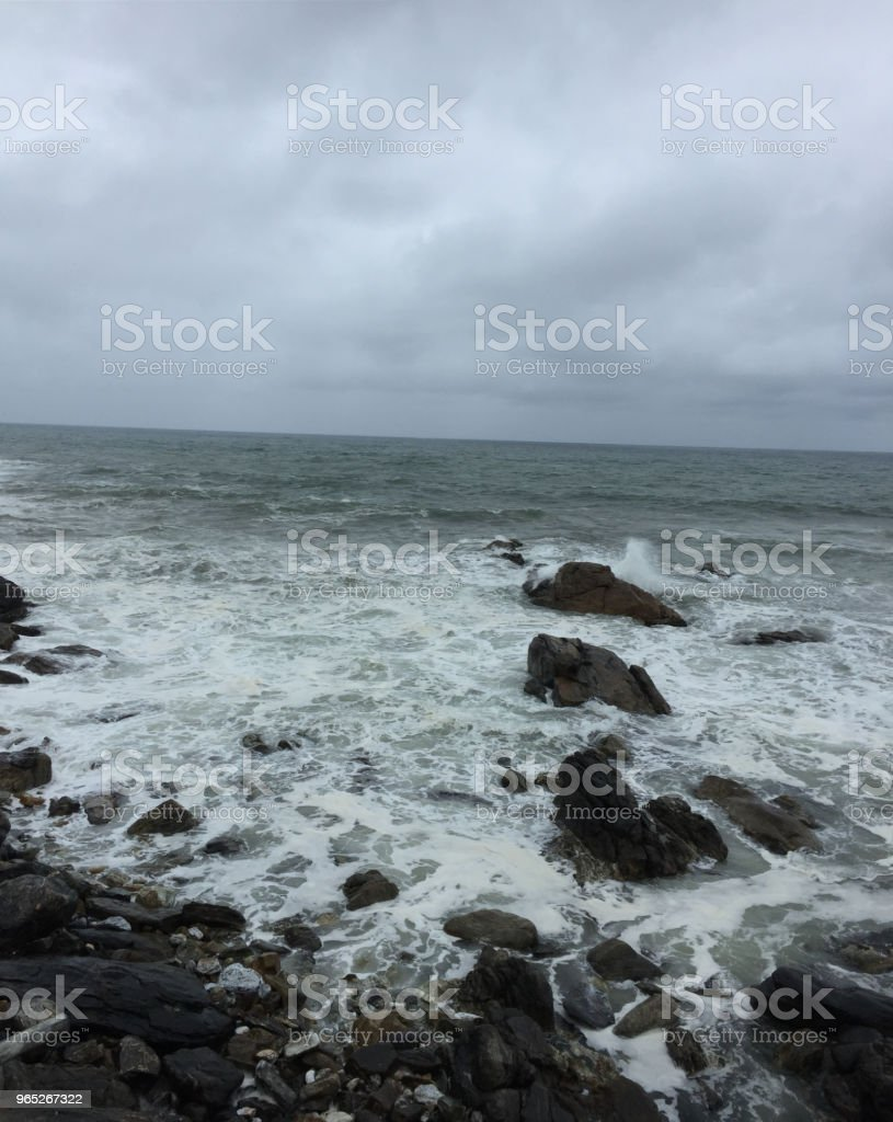 angry Wave royalty-free stock photo