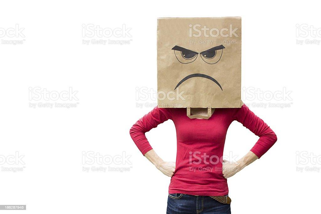 Femme en colère - Photo