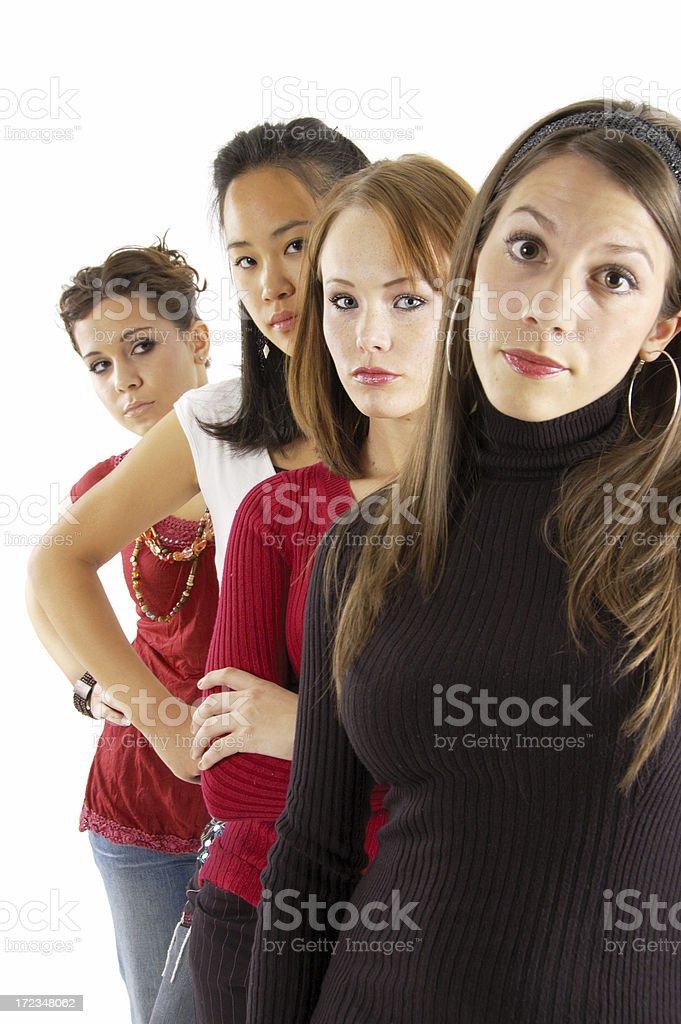 Angry Women stock photo