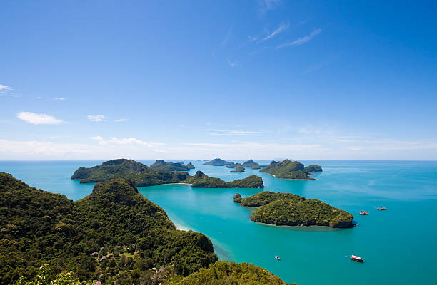 AngThong National Park, Koh Samui, Thailand stock photo