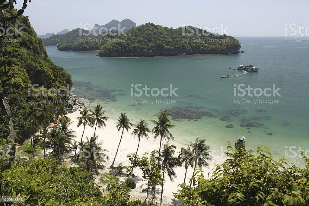 Angthong park Samui stock photo