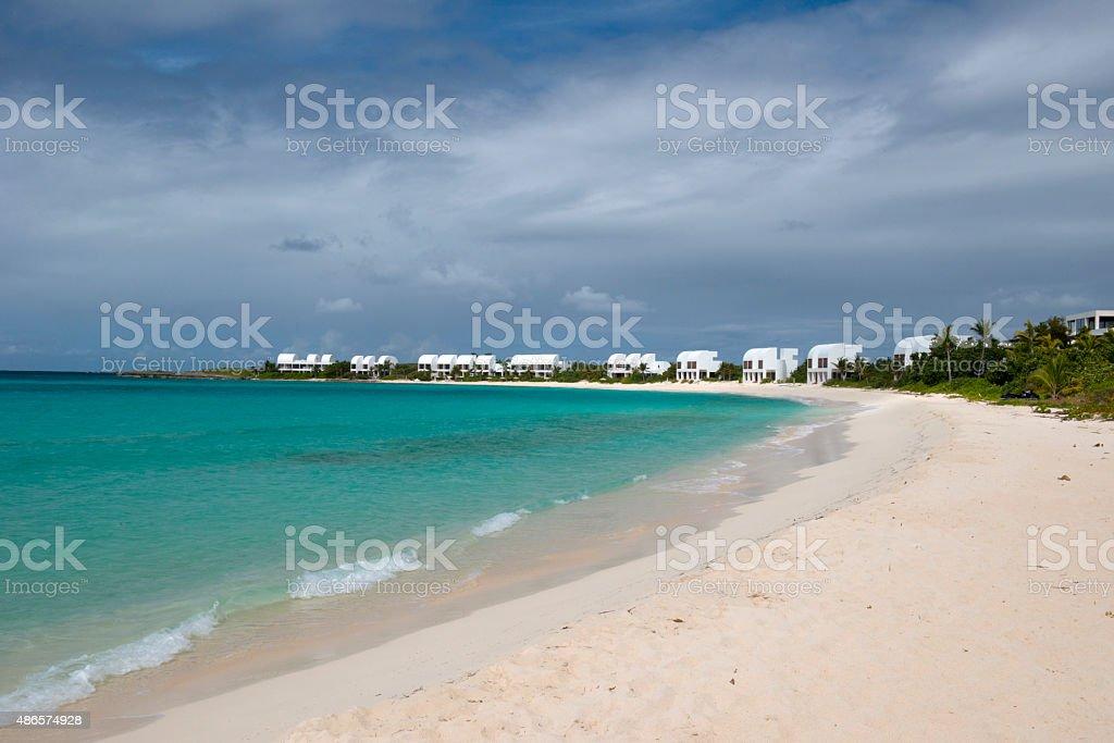 Anguilla island, Caribbean stock photo