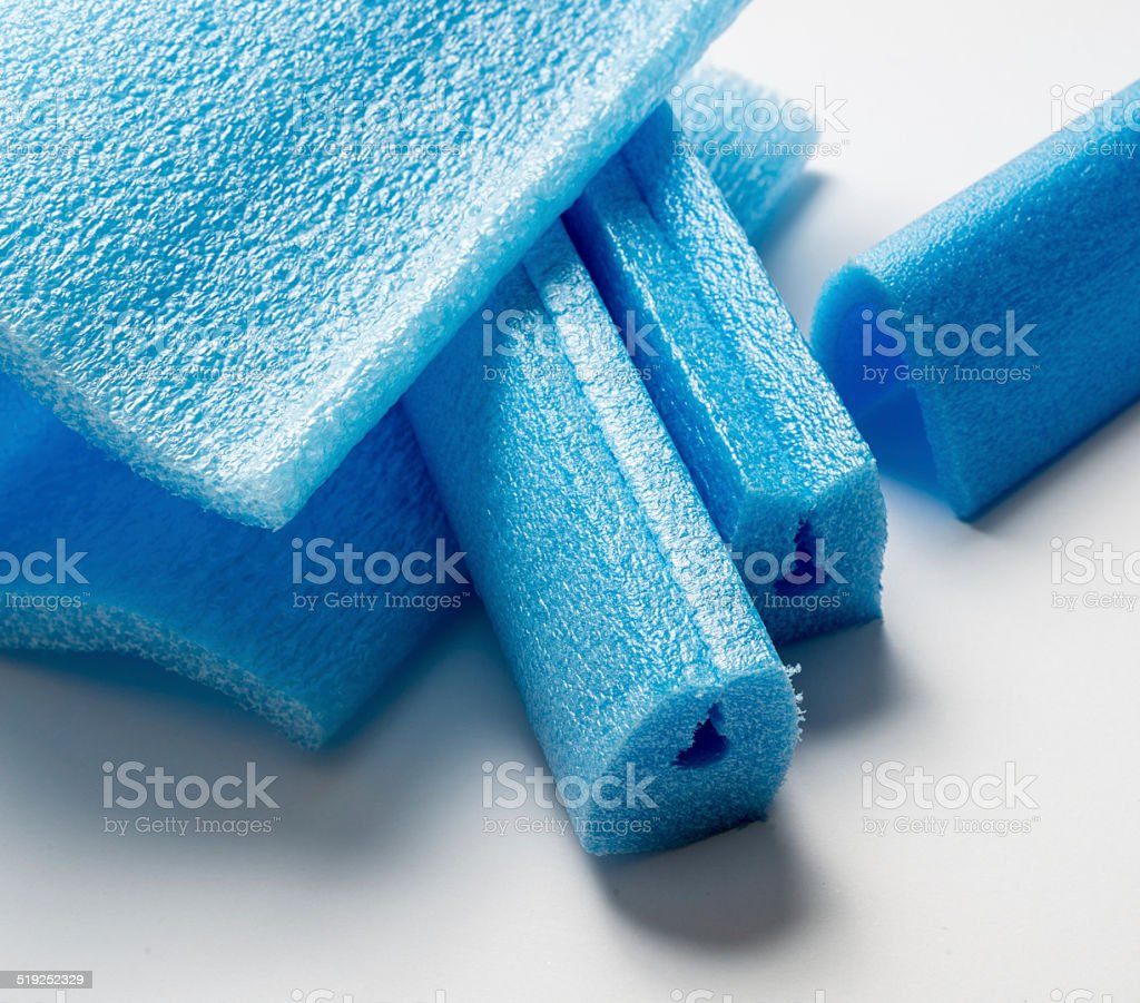 Angular Of Polyethylene Foam Stock Photo & More Pictures of Angle