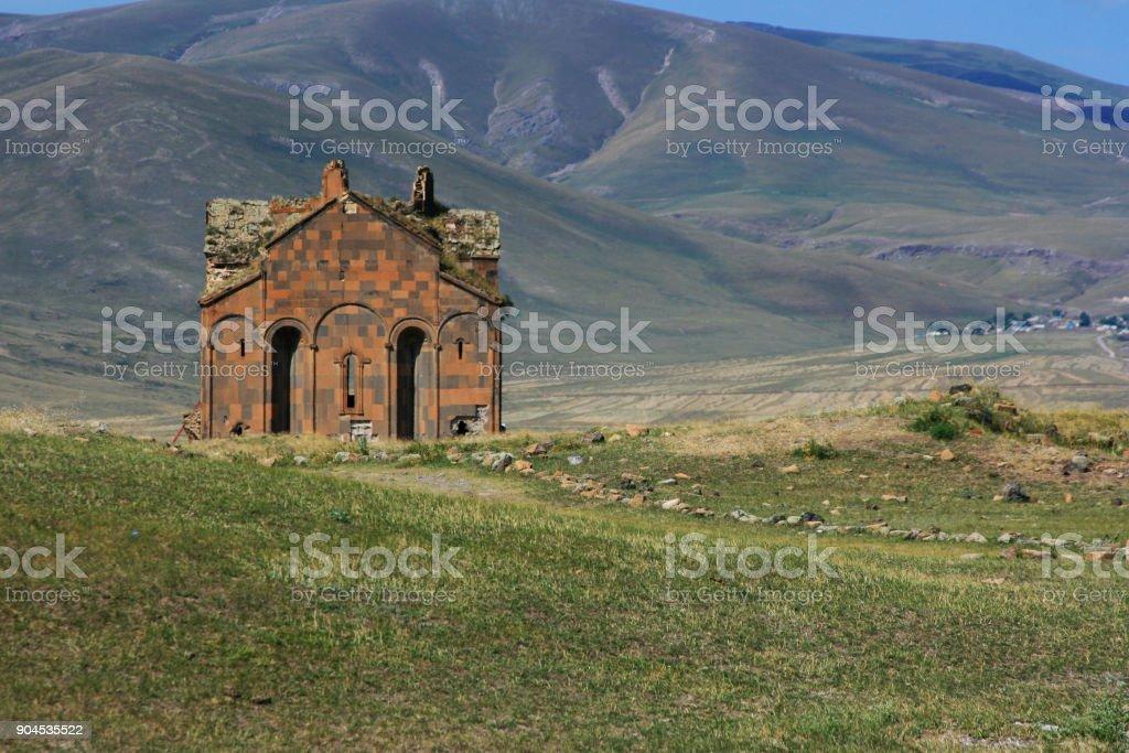 Ani Ruins  Ani Village - Kars, Turkey stock photo