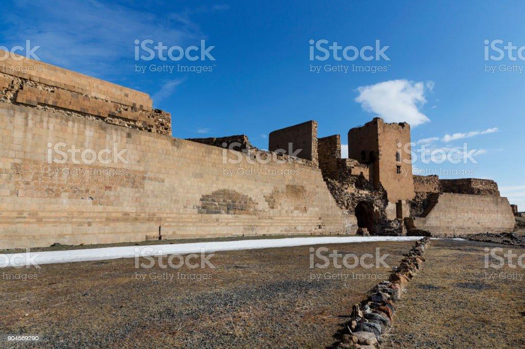 Ani Ruins in Kars, Turkey stock photo