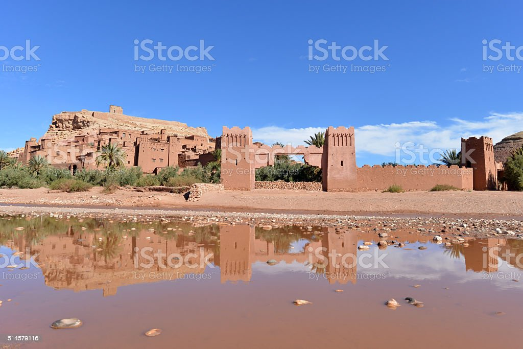 Anient, fortified city, Morocco stock photo