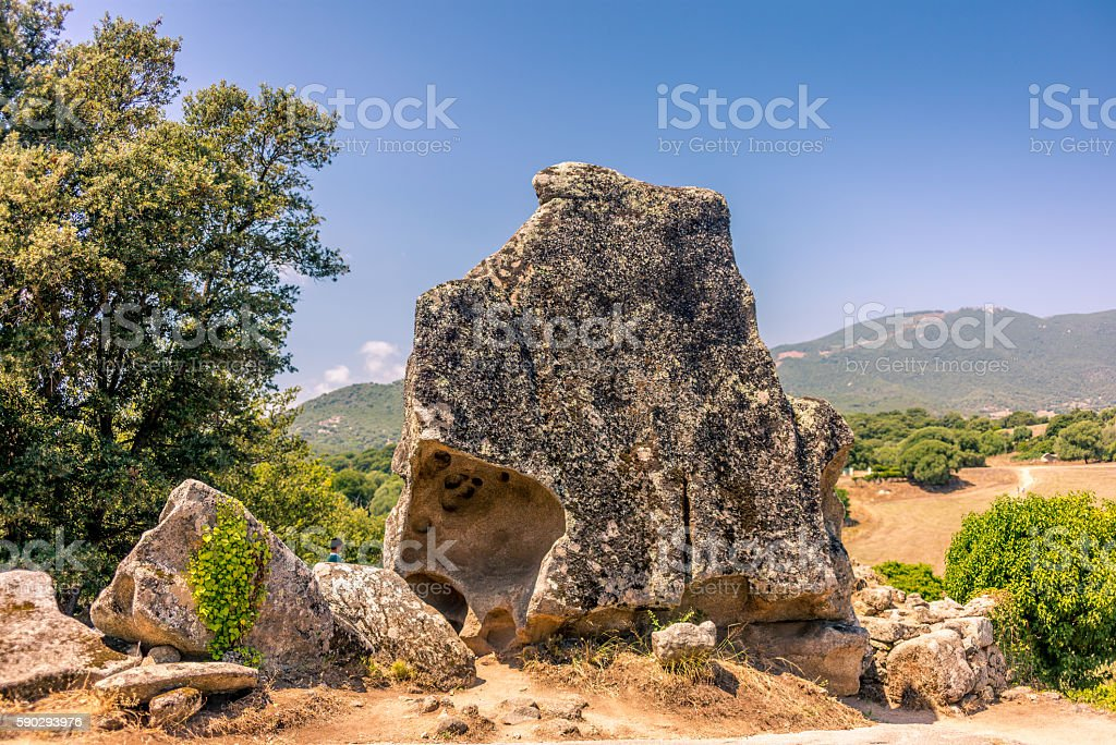 Animal shaped strange rock formations in Corsica - 1 royaltyfri bildbanksbilder