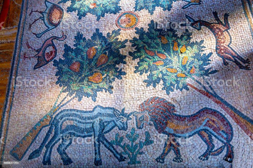 Tierische Baum Mosaik John Baptist Griechischorthodoxe