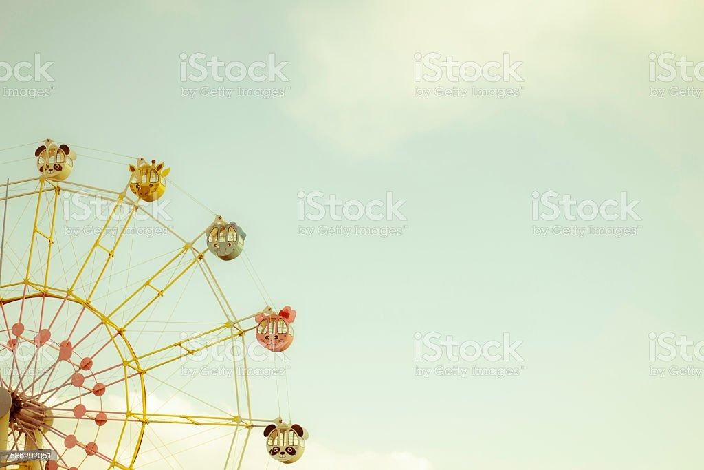 Animal type of Ferris wheel stock photo