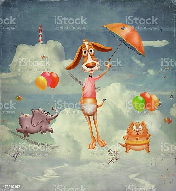 Animals on the fantastic planet in the sky picture id470210162?b=1&k=6&m=470210162&s=612x612&h=k55cg1kk7 2spf4mdh v1roimroetwsem9 sqlrl44e=