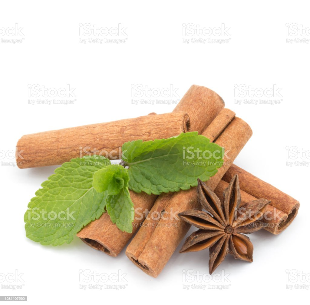 anise and cinnamon stock photo