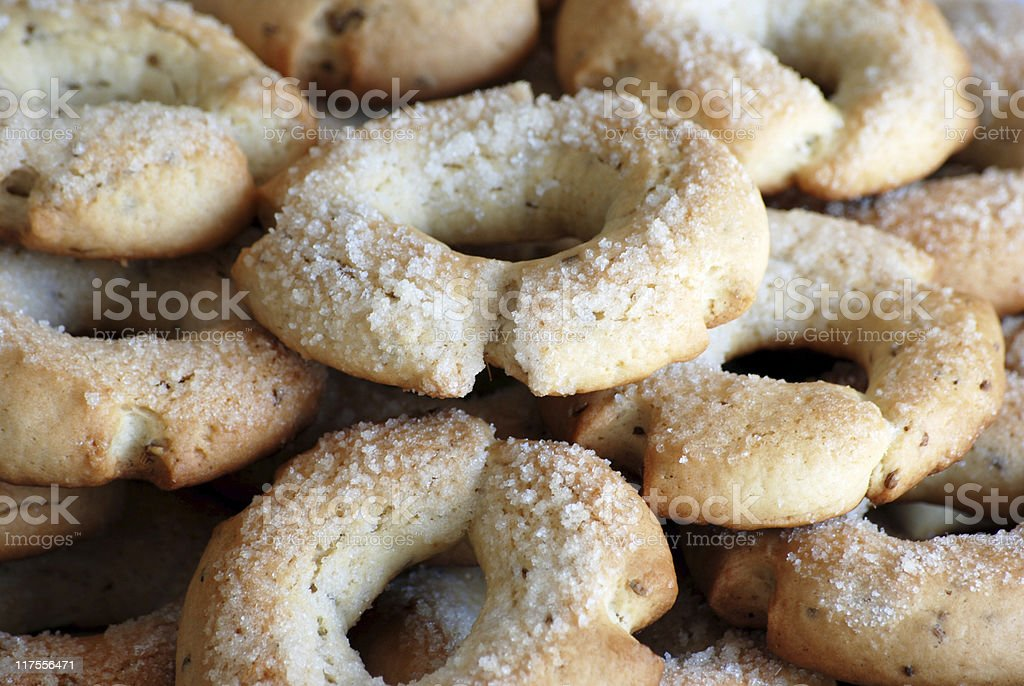 Anise Cookies royalty-free stock photo